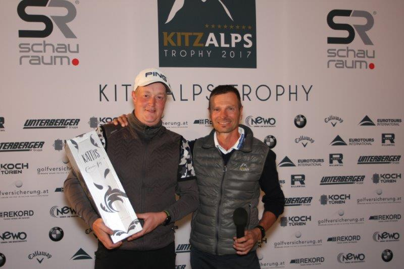 "KITZ ALPS TROPHY 2017 – ""Rookie of the Year"" Christoph Trauner"