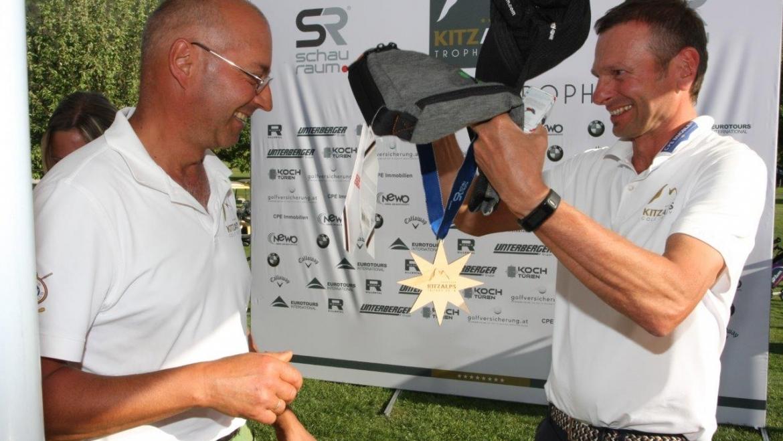 Manfred Pletzer vom GCC Lärchenhof erspielt sich mit einer Traumrunde den 2. Stern