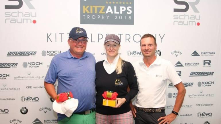"""""""Monster-Drive"""" von Gerhard Mayr rettete seinen (Golf)Tag, Natalie Woudenberg siegte bei den Damen!"""