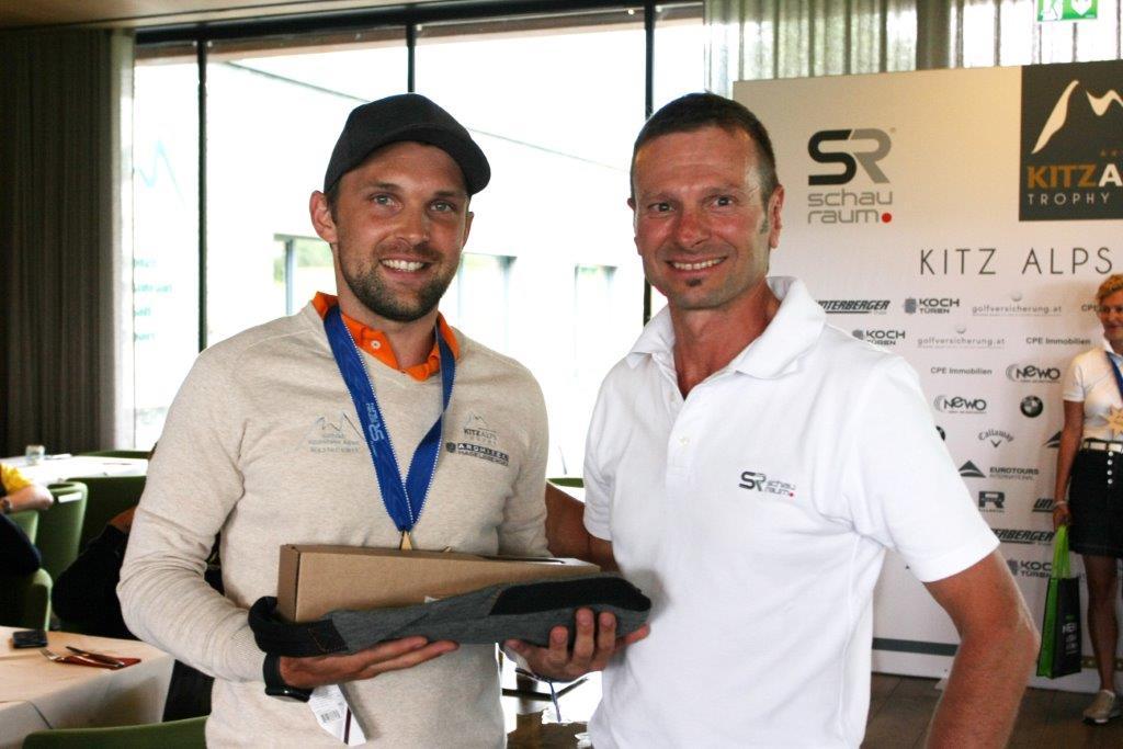 Ruetz Andreas vom GC Westendorf neuer Zweiter in der Netto-Gesamtwertung