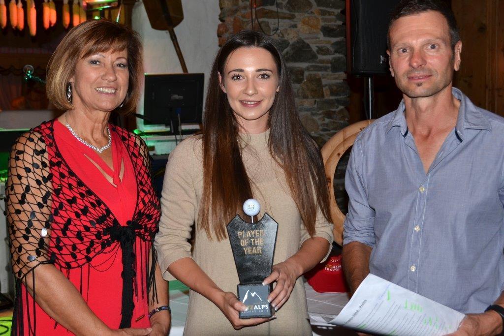 Anna Mauz wird zur Spielerin des Jahres 2018 gewählt