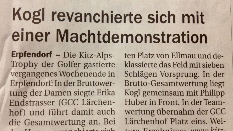 PRESSEBERICHT – Tiroler Tageszeitung