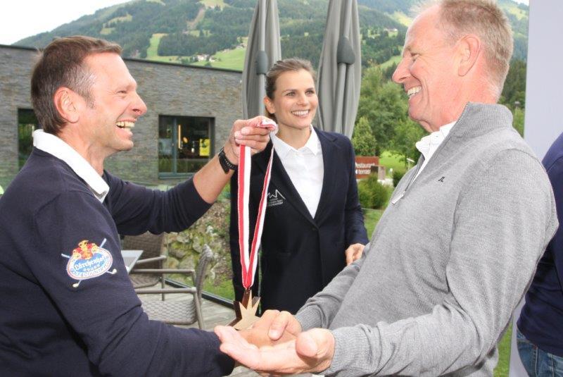GC Westendorf Präsident Jakob Haselsberger gewinnt seinen ersten Stern