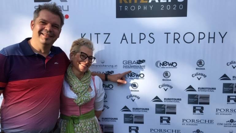 Sponsor Alex Hübschmann freut sich