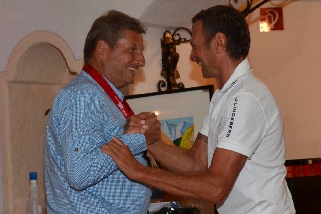Golfversicherungsboss Reinhard Adler gewinnt 2. und 3. Stern